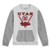 Image for Utah Utes Grey Crewneck with Pocket