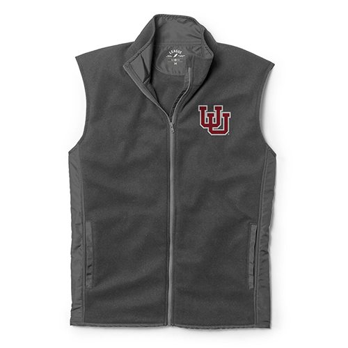 Image For Utah Utes Charcoal Grey League Vest