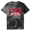 Cover Image for Utah Utes Interlocking U 1850 Youth Tie-Dye Tee