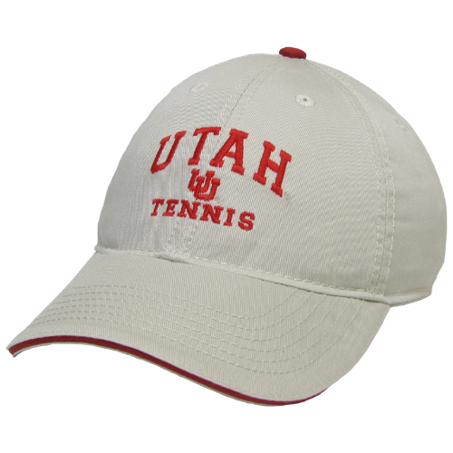 Cover Image For Utah Utes Legacy Tennis Hat