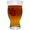 Image for Utah Utes Interlocking U Nonic Pint Glass