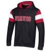 Image for Utah Utes Black Full-Zip Hoodie
