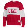 Image for Utah Utes Women's Under Armour Center Stripe Crewneck