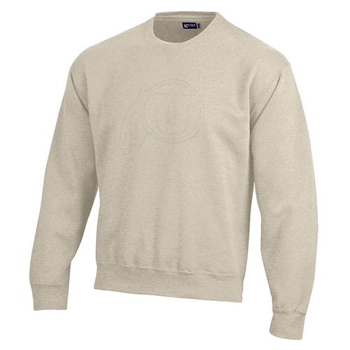 Image For Utah Utes Athletic Logo Oatmeal Crewneck