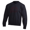 Image for Utah Utes Black Crewneck with Athletic Logo