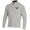 Image for Utah Utes Interlocking U Salt and Pepper Quarter-Zip