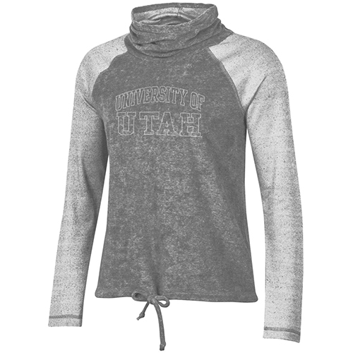 Image For Utah Utes Women's Gear Cowl Neck Sweatshirt