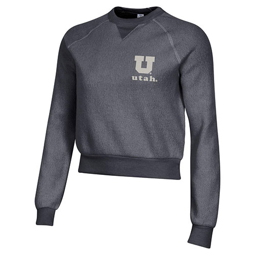 Image For Utah Utes Women's Fleece Long Sleeve