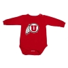 Image for Utah Utes Athletic Logo Infant Onesie