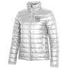 Image for Utah Utes Under Armour Interlocking U White Puffer Jacket