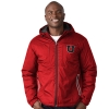 Image for Utah Utes Block U Crimson Puffer Jacket