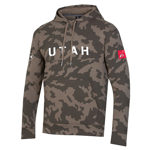 Image For Under Armour Sideline Freedom Camo Hoodie