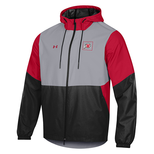 Image For Utah Utes Under Armour Sideline Jacket