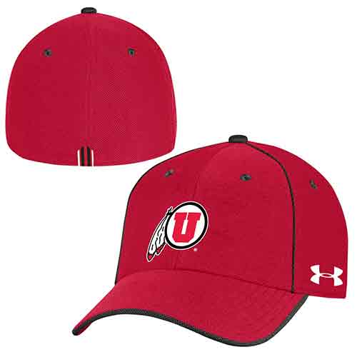 Image For Utah Utes Under Armour Classic Fit Hat