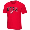 Image for Utah Utes Red Colosseum Athletic Logo T-Shirt