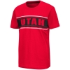 Image for Utah Utes Striped Colosseum Youth Tee