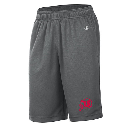 Image For Utah Utes Athletic Logo Youth Champion Shorts
