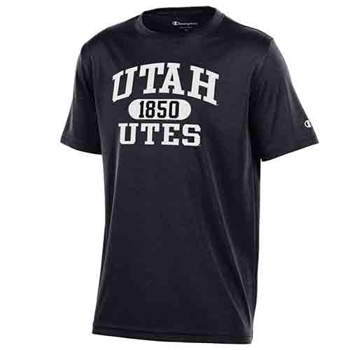 Image For Utah Utes 1850 Youth Champion Tee