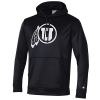 Image for Champion Athletic Logo Black Hoodie