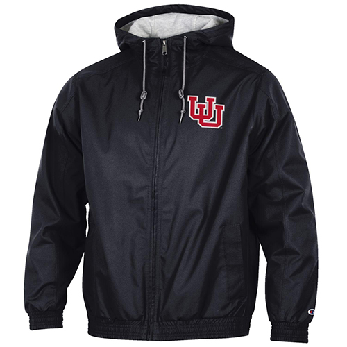 Image For Utah Utes Men's Interlocking U Fleece-Lined Full-Zip Jacket