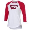 Image for Utah Utes Women's Under Armour Baseball 3/4 Sleeve T-Shirt