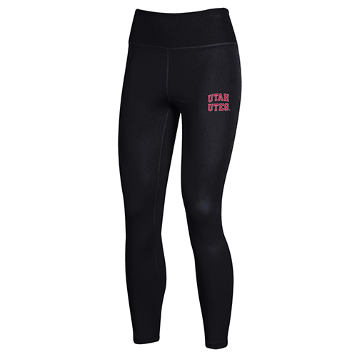 Image For Utah Utes Women's Under Armour Heat Gear Joggers