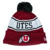 Image for New Era Utah Utes Athletic Logo Beanie
