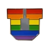 Image for Utah Utes Block U Pride Lapel Pin