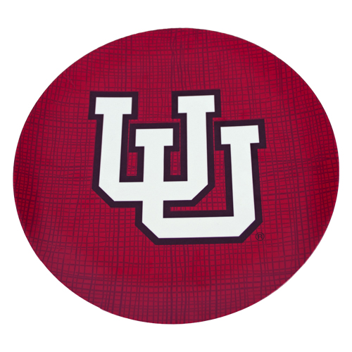 "Image For Utah Utes 10"" Interlocking U Salad Plate"