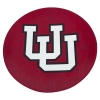 "Image for Utah Utes 8"" Interlocking U Salad Plate"
