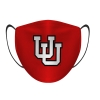 Image for Utah Utes Youth Interlocking U Red Mask