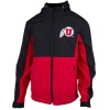 Image for Athletic Logo Black and Red Shell Jacket