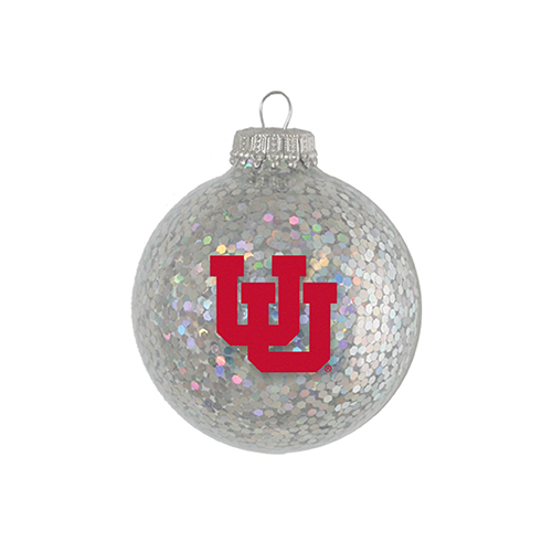 Image For Interlocking U Glitter Ornament