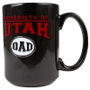 "Image for ""University of Utah Dad"" Black Coffee Mug"