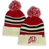 Image for Striped Athletic Logo Cuffed Beanie