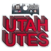 Image for Utah Utes Rugged Sticker