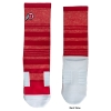 Image for Red and White Women's Striped Socks