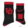 Image for Black and Red Interlocking U Socks