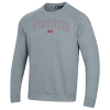 Image for Utah Utes Under Armour Embroidered Crew Neck