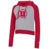 Image for Champion Women's Athletic Logo Hooded Sweatshirt