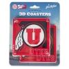 Image for 2 Pack 3D Athletic Logo Coaster Set
