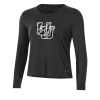 Image for Under Armour Women's Black Military Appreciation Long Sleeve