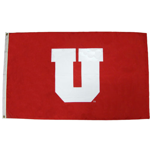 Image For Block U University of Utah Flag