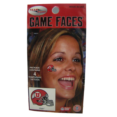 Image For Athletic Logo Helmet Face Stickers